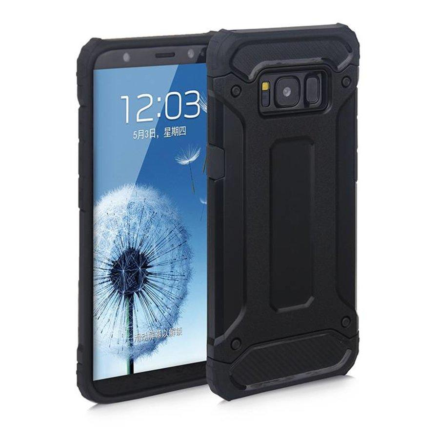 Samsung S8 Plus Heavy armour telefoonhoesje - Zwart-1