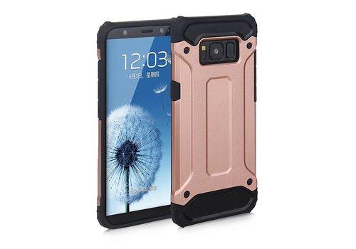 Samsung S8 Plus Heavy armour telefoonhoesje - Rose goud