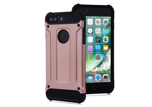 Apple Iphone 8 Plus Heavy armour telefoonhoesje - Rose goud