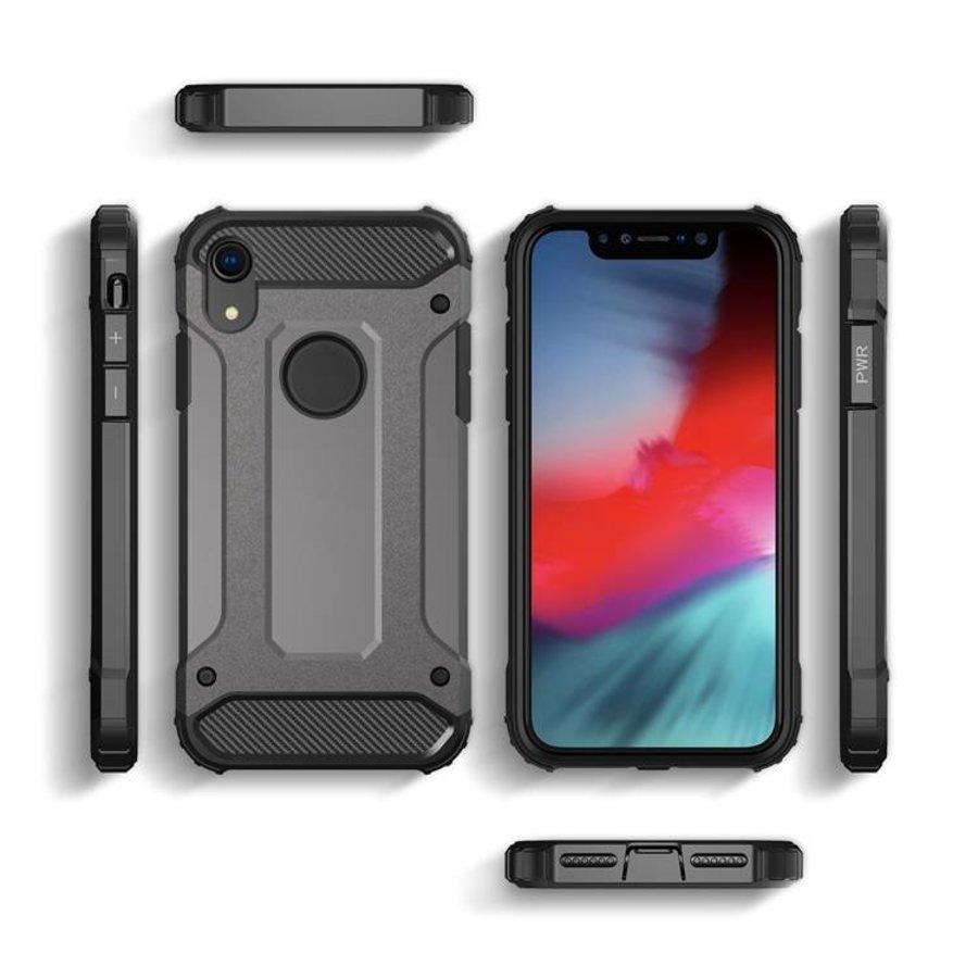 Apple Iphone XR Heavy armour telefoonhoesje - Grijs-2