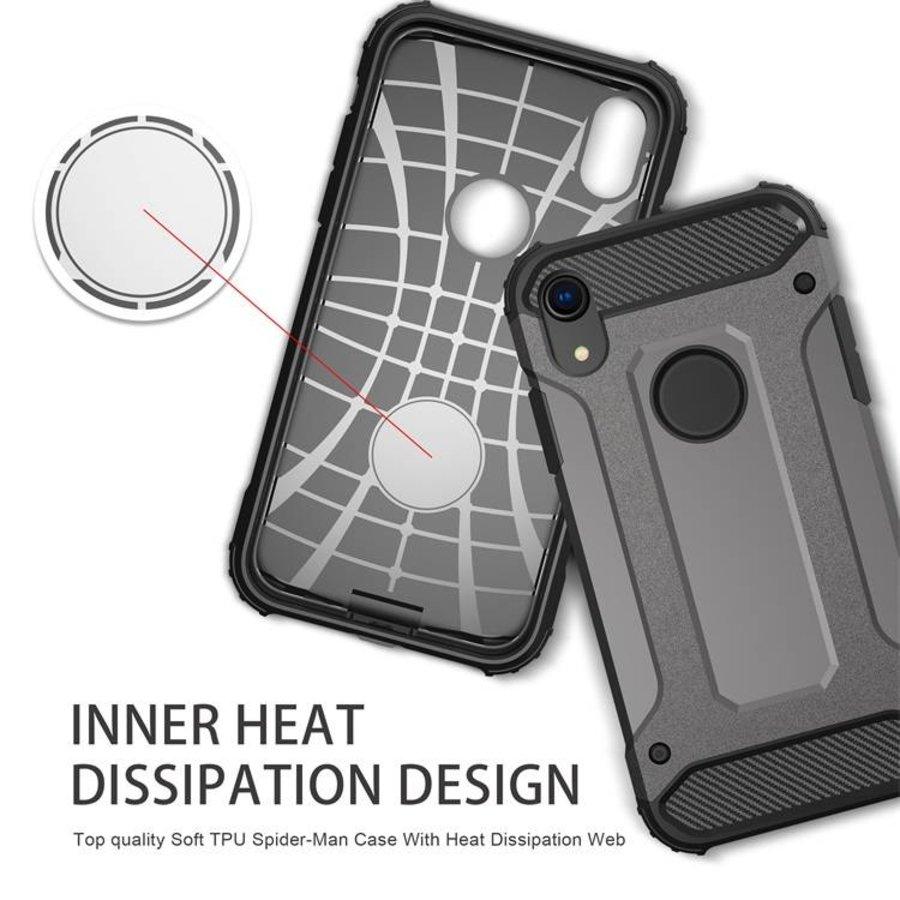Apple Iphone XR Heavy armour telefoonhoesje - Grijs-4