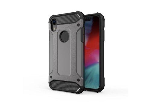 Apple Iphone XR Heavy armour telefoonhoesje - Grijs