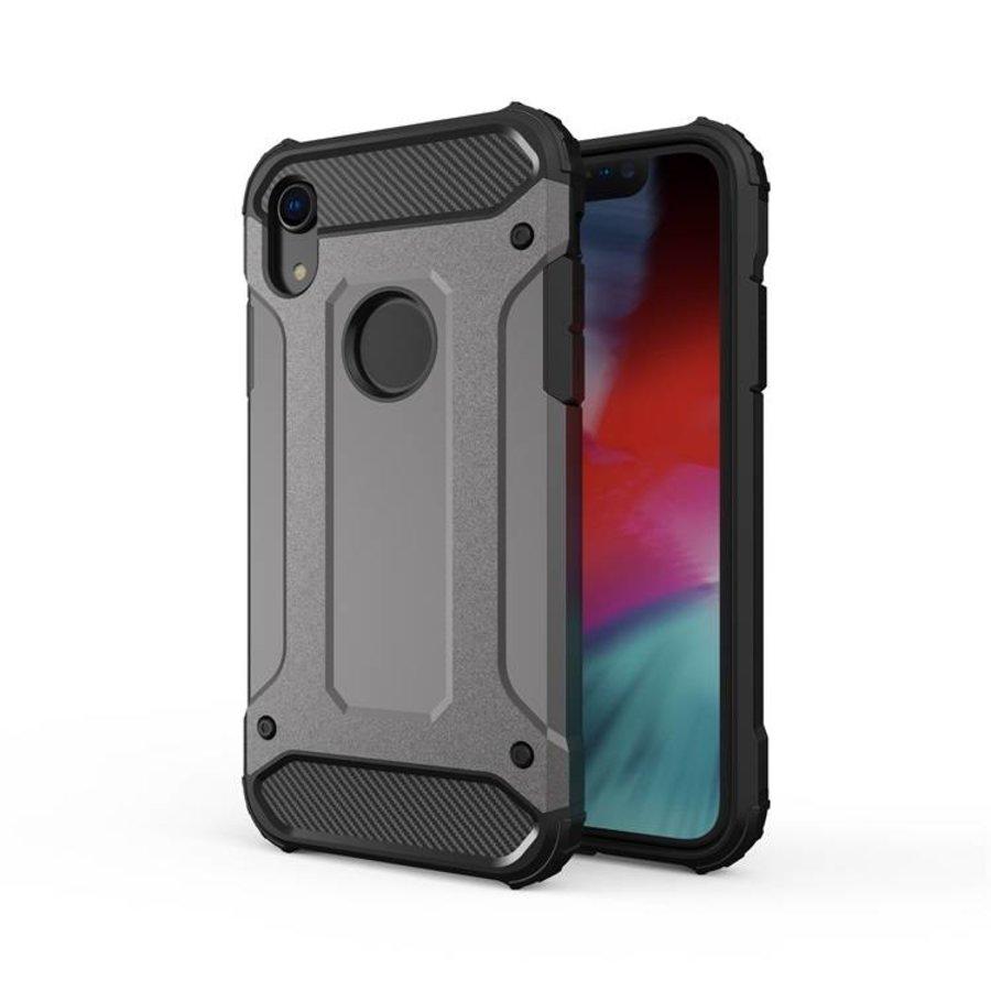 Apple Iphone XR Heavy armour telefoonhoesje - Grijs-1