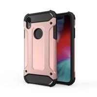 Apple Iphone XR Heavy armour telefoonhoesje - Rose goud