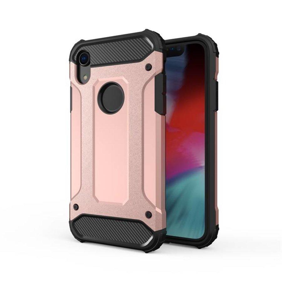 Apple Iphone XR Heavy armour telefoonhoesje - Rose goud-1
