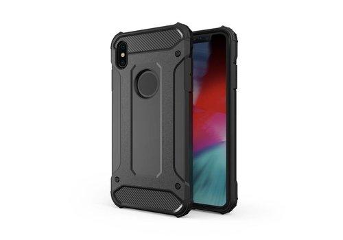 Apple Iphone XS max Heavy armour telefoonhoesje - Zwart