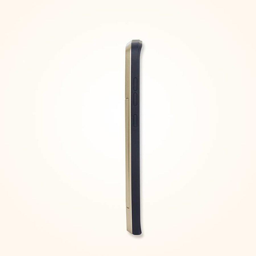 Samsung S8 Hybrid telefoonhoesje kaarthouder - Goud-2