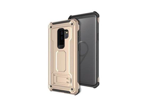 Samsung S9 Plus hybrid kickstand telefoonhoesje - Goud