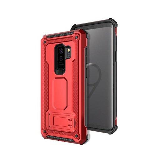 Samsung S9 Plus hybrid kickstand telefoonhoesje - Rood