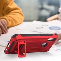 thumb-Huawei P20 Lite hybrid kickstand telefoonhoesje - Rood-2