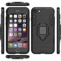 thumb-Apple Iphone 7 Plus Ring magnet telefoonhoesje - Zwart-6