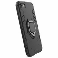 thumb-Apple Iphone 8 Ring magnet telefoonhoesje - Zwart-5