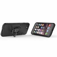 thumb-Apple Iphone 8 Ring magnet telefoonhoesje - Zwart-2