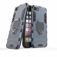 thumb-Apple Iphone 8 Ring magnet telefoonhoesje - Blauw-3