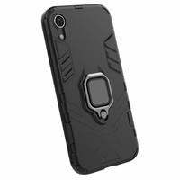 thumb-Apple Iphone XR Ring magnet telefoonhoesje - Zwart-4