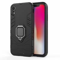 thumb-Apple Iphone XR Ring magnet telefoonhoesje - Zwart-1
