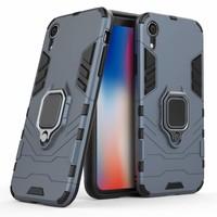 thumb-Apple Iphone XR Ring magnet telefoonhoesje - Blauw-3