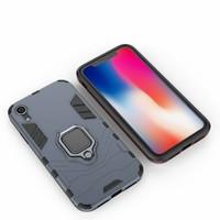 thumb-Apple Iphone XR Ring magnet telefoonhoesje - Blauw-4