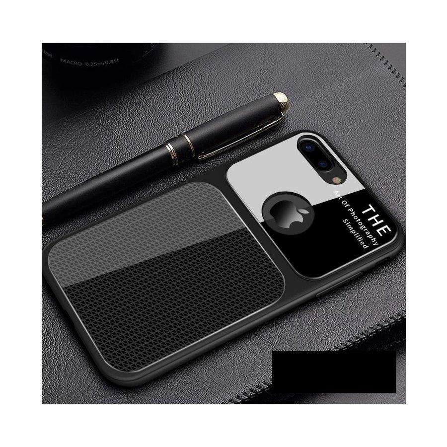 Apple Iphone 7 Slim Focus Telefoonhoesje - Zwart-1