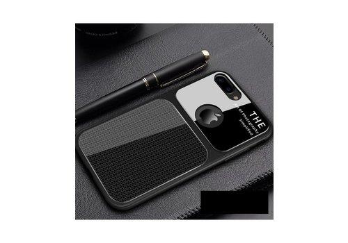 Apple Iphone 8 Slim Focus telefoonhoesje - Zwart