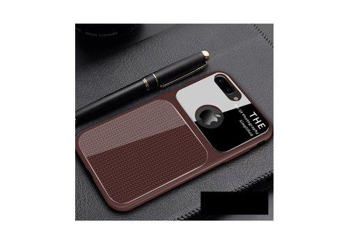 Apple Iphone 8 Slim Focus telefoonhoesje - Bruin