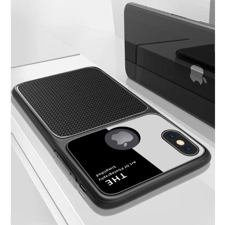 Apple Iphone X Slim Focus telefoonhoesje - Zwart-2
