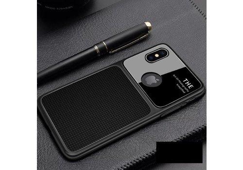 Apple Iphone XS Slim Focus telefoonhoesje - Zwart