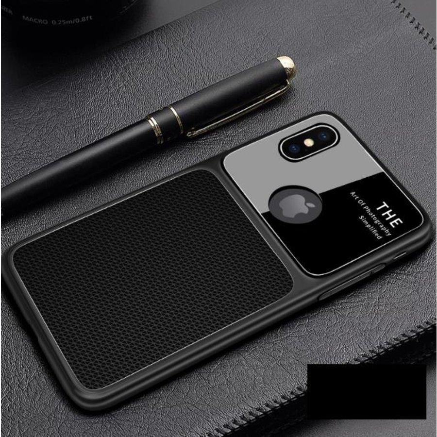 Apple Iphone XS Slim Focus telefoonhoesje - Zwart-1