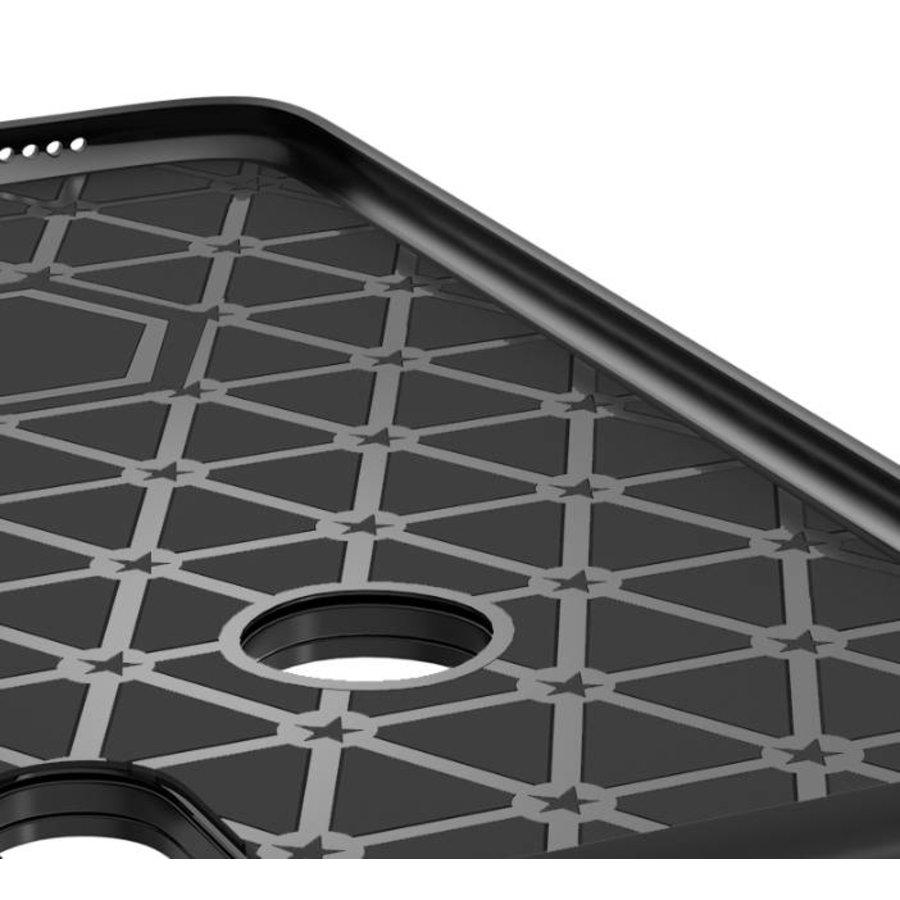 Apple Iphone XS Slim Focus telefoonhoesje - Zwart-3