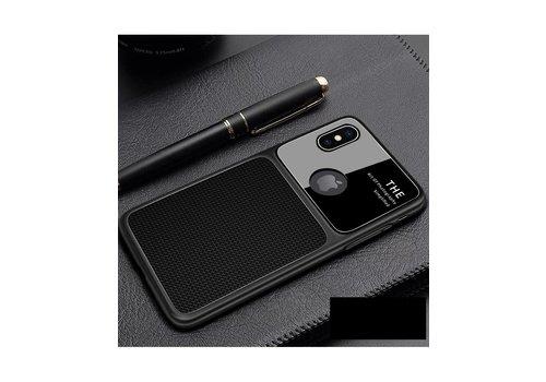 Apple Iphone XS max Slim Focus telefoonhoesje - Zwart