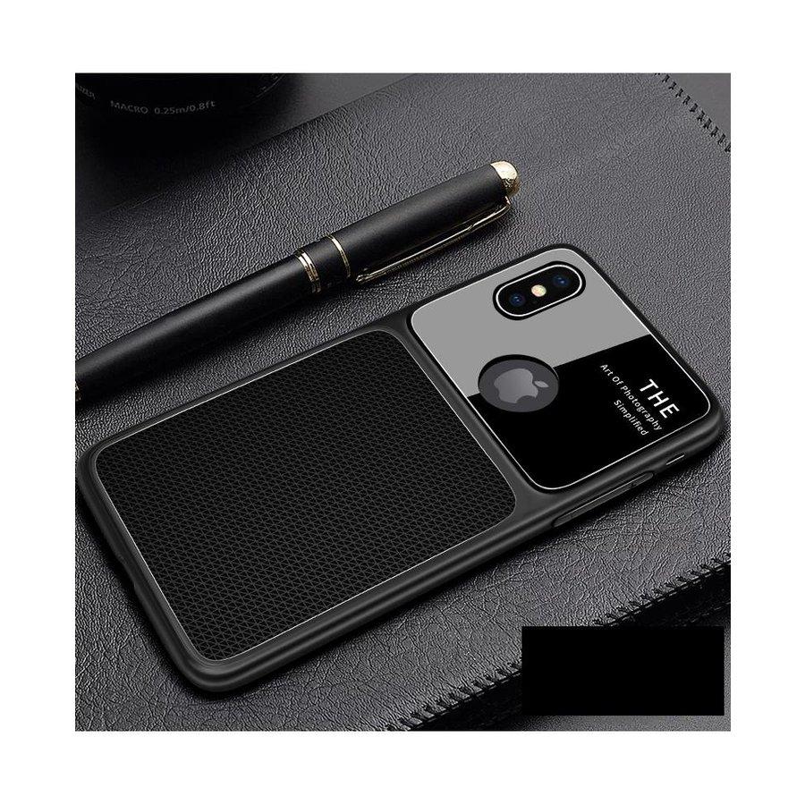 Apple Iphone XS max Slim Focus telefoonhoesje - Zwart-1