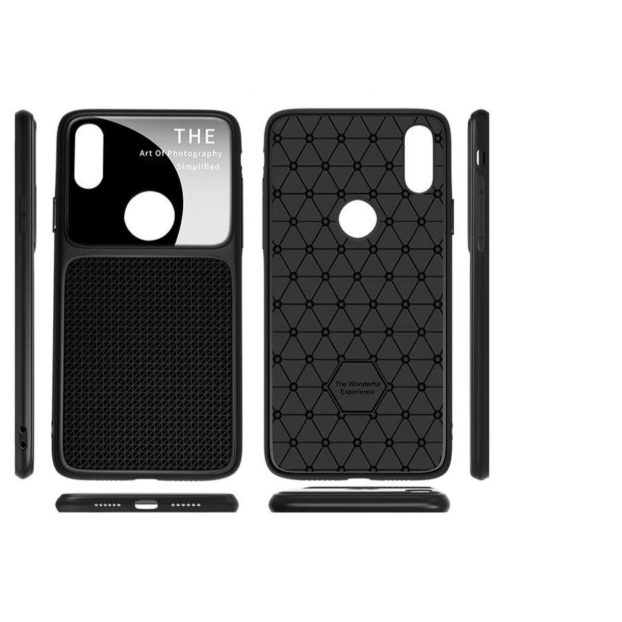 Apple Iphone XS max Slim Focus telefoonhoesje - Zwart-2