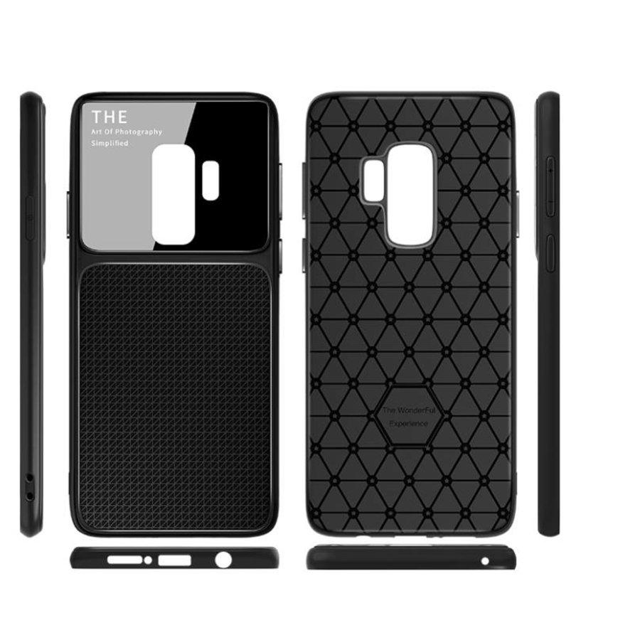 Samsung S9 Slim Focus telefoonhoesje - Zwart-2