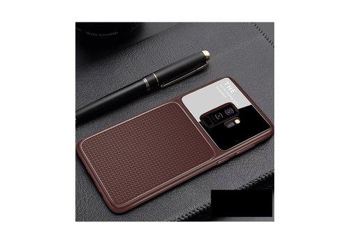 Samsung S9 Slim Focus telefoonhoesje - Bruin