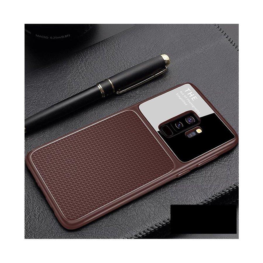Samsung S9 Slim Focus telefoonhoesje - Bruin-1