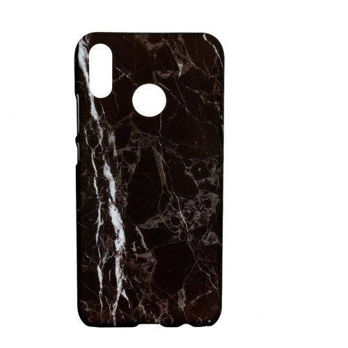 Huawei P20 Lite Marmer telefoonhoesje - Zwart