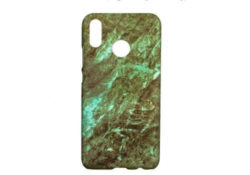 Huawei P20 Lite Marmer telefoonhoesje - groen