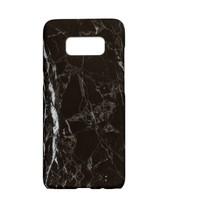 Samsung S8 Marmer telefoonhoesje - Zwart