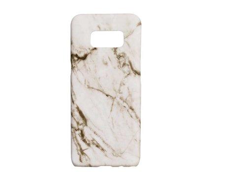 Samsung S8 Marmer telefoonhoesje - Wit