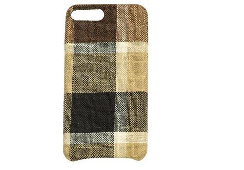Apple Iphone 8 Plus Vintage telefoonhoesje - Bruin