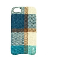 thumb-Apple Iphone 8 Vintage telefoonhoesje - Blauw-1