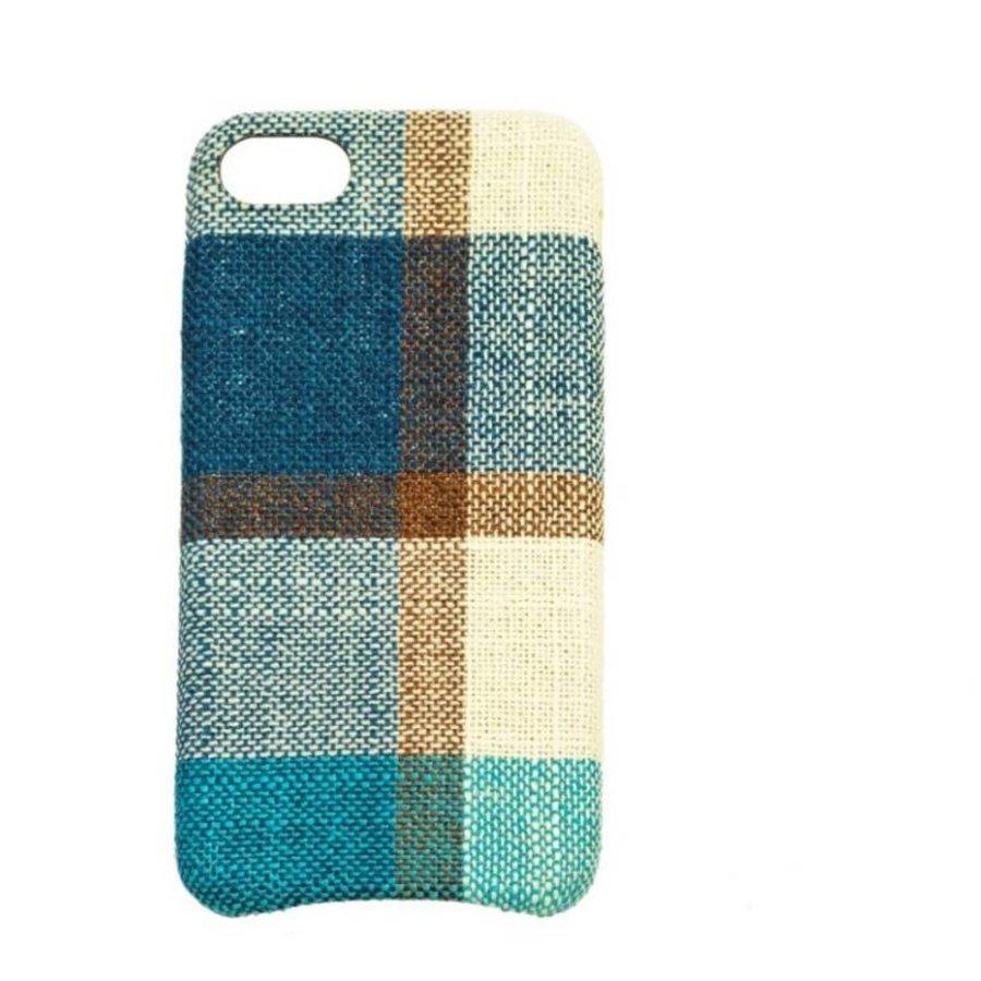 Apple Iphone 8 Vintage telefoonhoesje - Blauw-1