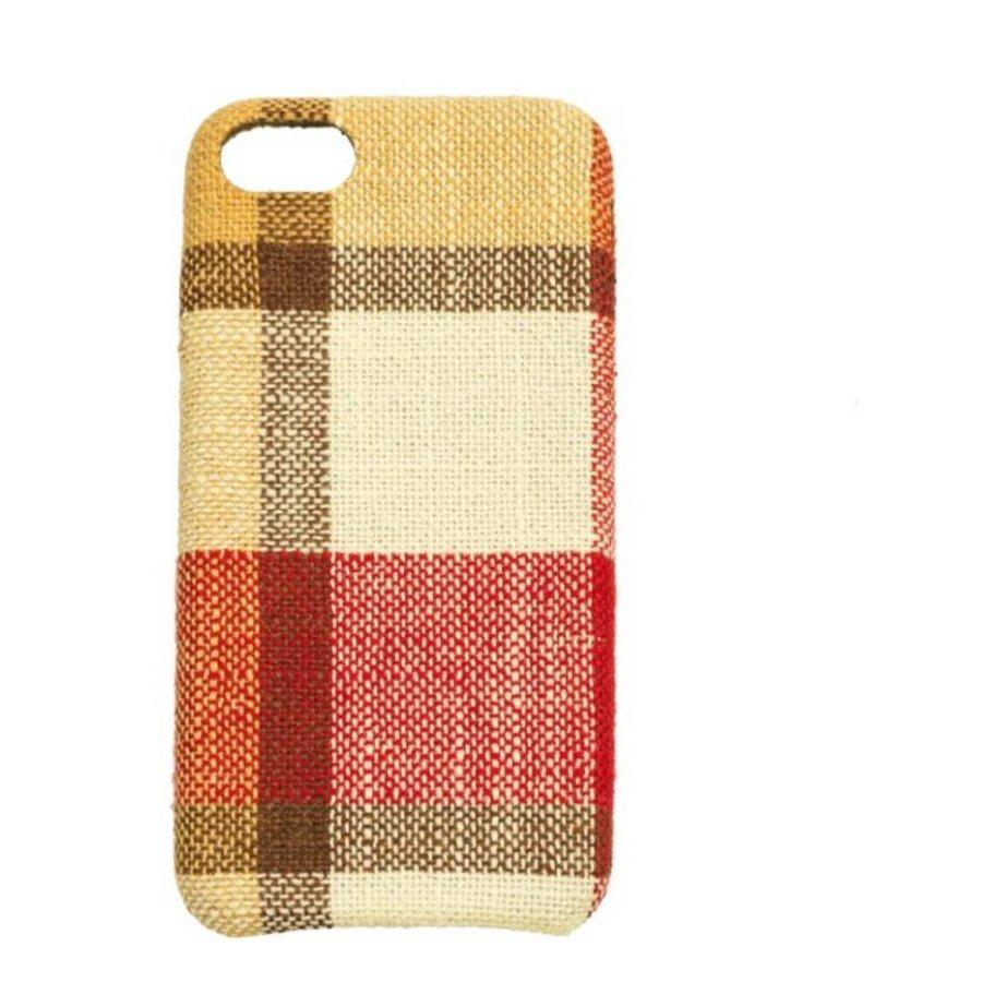 Apple Iphone 8 Vintage telefoonhoesje - Rood-1