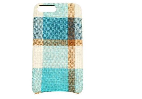 Apple Iphone 8 Plus Vintage telefoonhoesje - Blauw