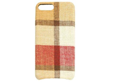 Apple Iphone 8 Plus Vintage telefoonhoesje - Rood