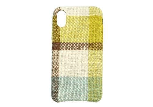 Apple Iphone X Vintage telefoonhoesje - Geel