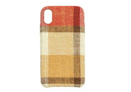 Apple Iphone XS Vintage telefoonhoesje - Rood