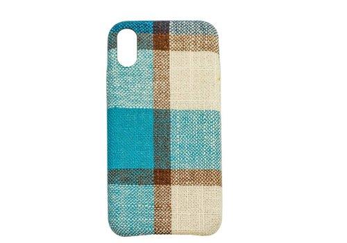 Apple Iphone XS Vintage telefoonhoesje - Blauw