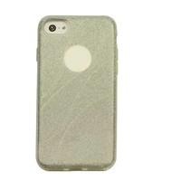 Apple Iphone 8 Glitter wave telefoonhoesje - Zilver