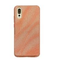Huawei P20 Glitter wave telefoonhoesje - Roze